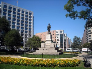 Farragut_Square_-_facing_north